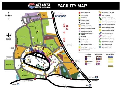 directions to new hshire motor speedway worry less fan guide presented by liberty nascar