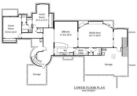 white house basement floor plan house plans 4203
