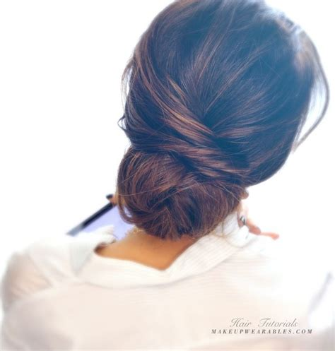 updo hairstyles 50 plus les 25 meilleures id 233 es de la cat 233 gorie chignon bas