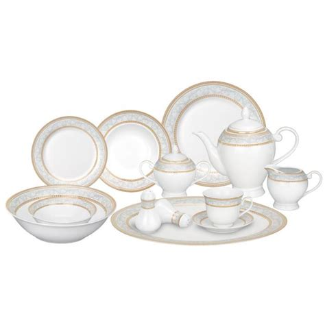 lorren home trends porcelain dinnerware set giada