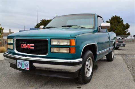download car manuals 2009 gmc sierra 1500 parking system find used 1994 gmc c1500 sierra sle standard cab pickup 2 door 5 7l low miles in kennewick