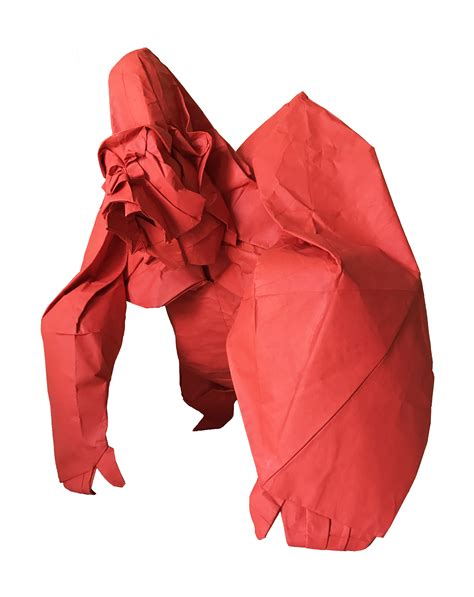 large origami large origami sculpture artwork by cuong nguyen buy