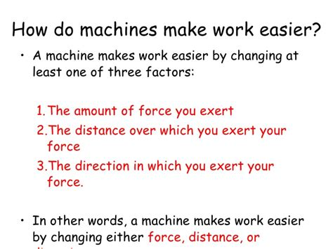 how to make lwork machines