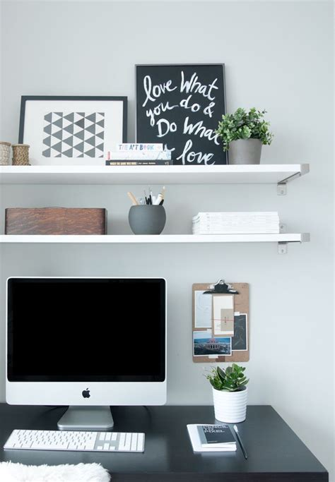 Desk Shelving Ideas 25 Best Ideas About Shelves Above Desk On Pinterest Bookshelf Ideas Bookshelves And