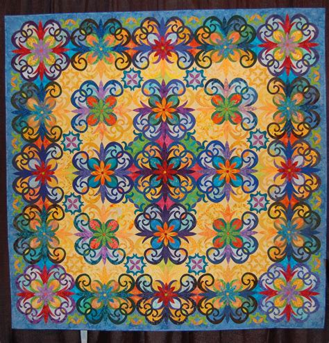 Quilting A Quilt by Fused Quilts A Daily Dose Of Fiber
