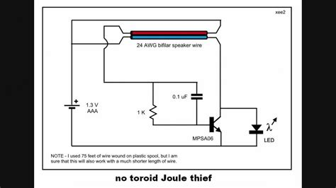adding capacitor to joule thief 28 images joule thief getting power from dead batteries