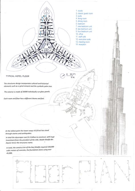 layout plan of burj khalifa the burj khalifa sara abbas interior architecture