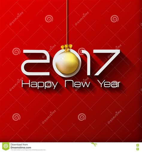 Major Gift Card 2017 - 2017 happy new year gift greeting card with gold stock illustration image 76638905