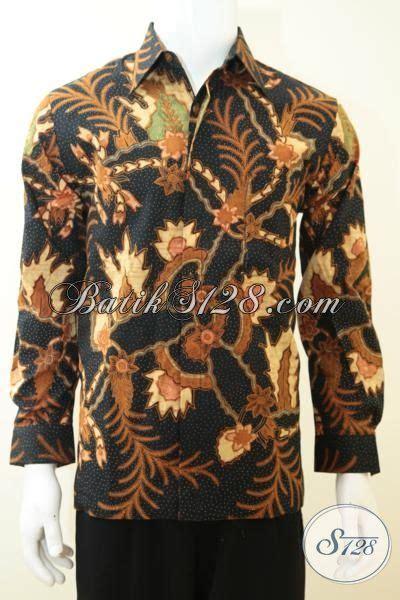 Batik Kemeja 211 kemeja batik tulis warna hitam keren gagah berwibawa