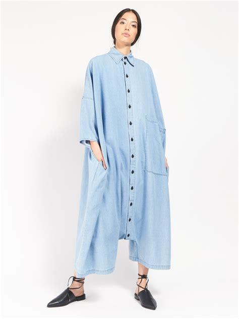 69 big button up jumpsuit denim garmentory