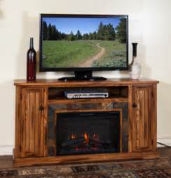 fireplace tv stands sd 3488ro 60r 60 quot sedona rustic oak fireplace tv stand