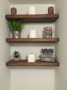 a decore wall galleries on floating shelves