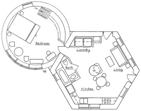 round house plans floor plans hexagonal round house plan