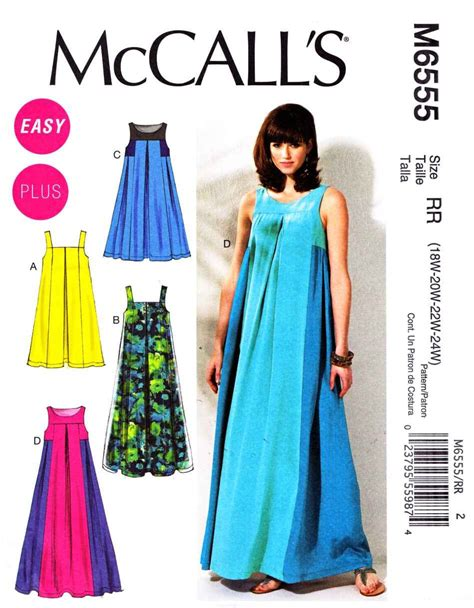 sewing patterns uk plus size mccalls sewing pattern 6555 misses size 8 16 easy pullover