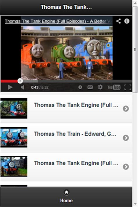 free thomas the tank engine videos apk download for
