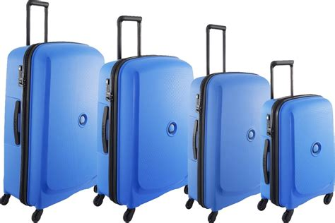 light blue luggage sets delsey belmont 4 hardside spinner suitcase set light
