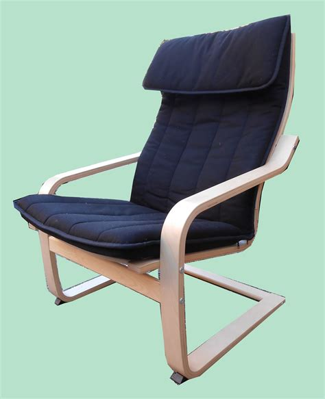 Poäng Chair by Uhuru Furniture Collectibles Poang Lounge Chair Sold
