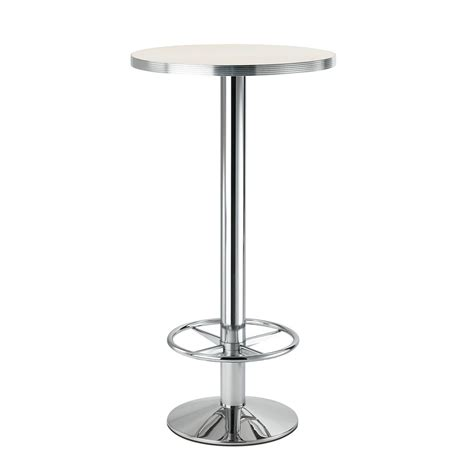 tavolo alto da bar tonda 4154r per bar e ristoranti basamento per tavolo