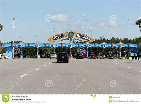 disney world sections magic kingdom editorial stock image image 36263924