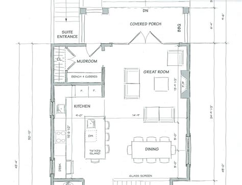 great room floor plans floor plan for a 20x40 studio design gallery best