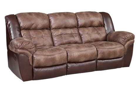 microfiber couch with recliner fenway microfiber reclining sofa