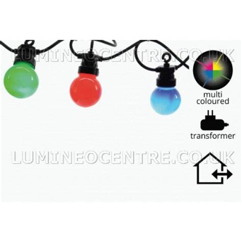 Fiting Lu Sambungan Extension 9 5cm lumineo 20 multicoloured led light starter set