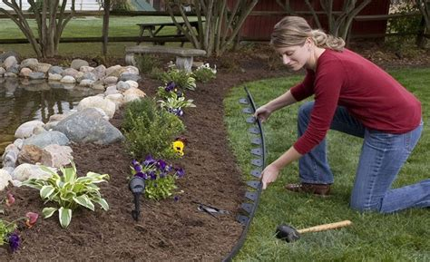 Designing A Flower Garden Layout How To Design A Flower Bed