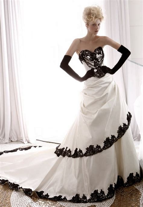 black and white wedding dresses plus size black and white wedding dresses plus size aonq dresses trend