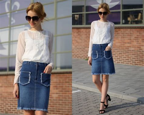 denim skirt ideas for summer ideas hq