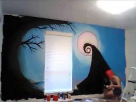 nightmare before wall mural nightmare before wall mural