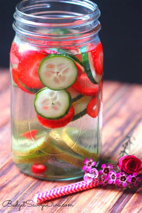 Detox Water Recipes Jar by Immunity Boosting Detox Water Recipe Budget Savvy