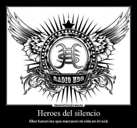 Kaos Keren Heroes Silencio Rock Band Logo frases h 233 roes silencio h 201 roes silencio and rock
