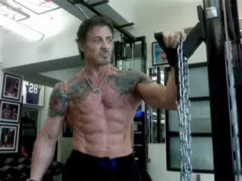 Horriblepictures At Age 62 | sylvester stallone 62 years old training youtube