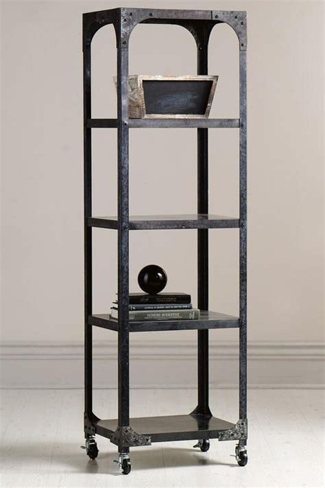 industrial bookcase with ladder bookshelf extraordinary industrial bookcases walmart