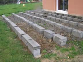 terrasse terrasse bois composite sur sol meuble