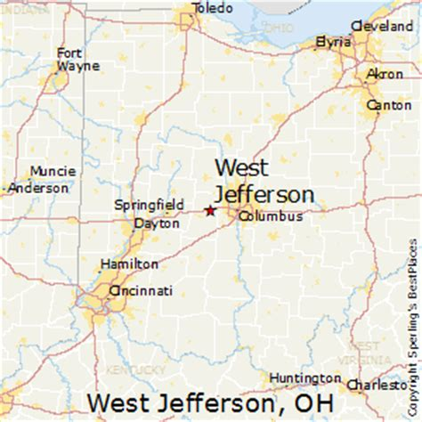 houses for sale west jefferson ohio best places to live in west jefferson ohio