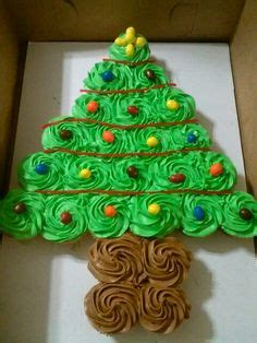 best pull apart christmas tree the best cupcake cake ideas thanksgiving navidad and cakes