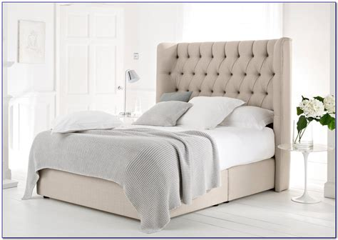 king size bed with fabric headboard tufted king size headboards gallery of grey fabric king