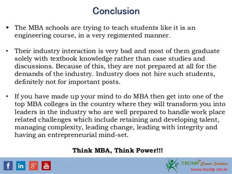 Mba In Telecommunication Management by Is Doing Mba A Investement