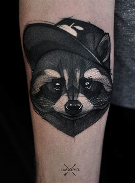 racoon tattoo 25 best ideas about raccoon on neo