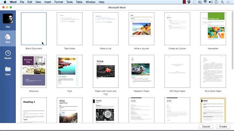 templates for word 2016 mac learning microsoft word for mac 2016 tutorial create a