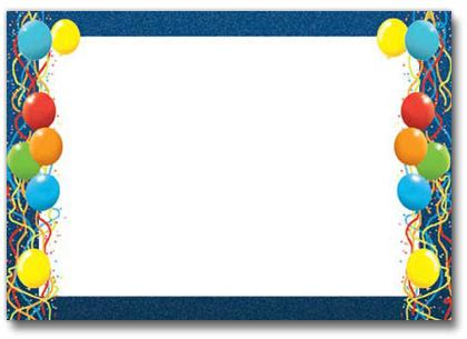 balloon border template free birthday borders for microsoft word cliparts co