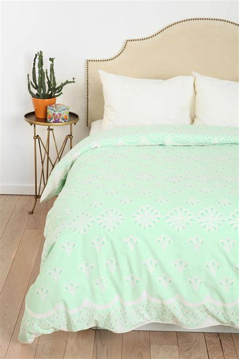mint green twin xl comforter urban outfitters scallops and twin xl on pinterest