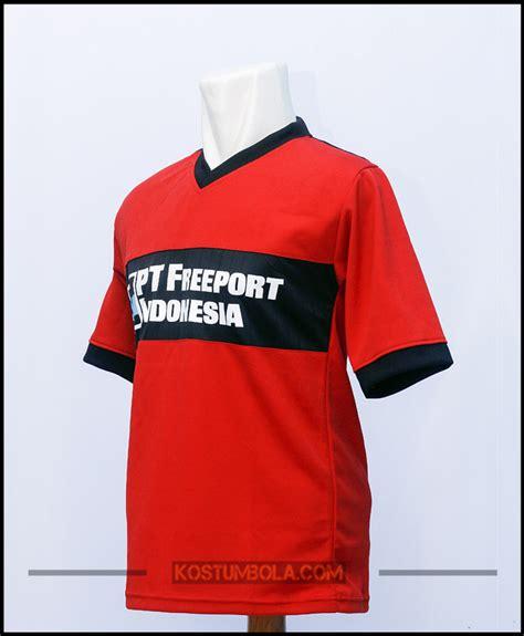 Kaos Bola 1 Lusin Jersey Bola Pt Freeport Indonesia