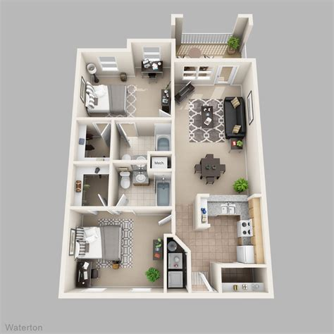 2 bedroom layout plan 2 bedroom apartment floor plans home design plan