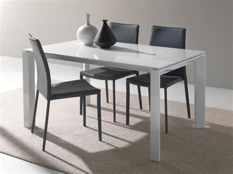 tavolo allungabili tavolo in vetro allungabile harvey per cucina o soggiorno