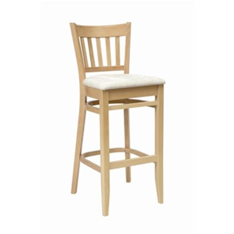 Wooden Breakfast Bar Stool by Wooden Padded Kitchen Breakfast Bar Stools Wooden Frame