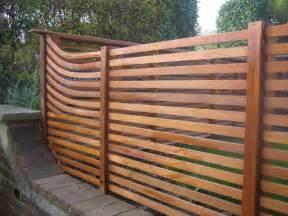 contemporary cedar fence farnham the decking network