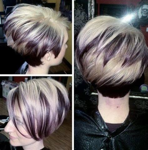 short bobs layer an the fourth an cherry an blond color 50 short choppy hairstyles for any taste choppy bob