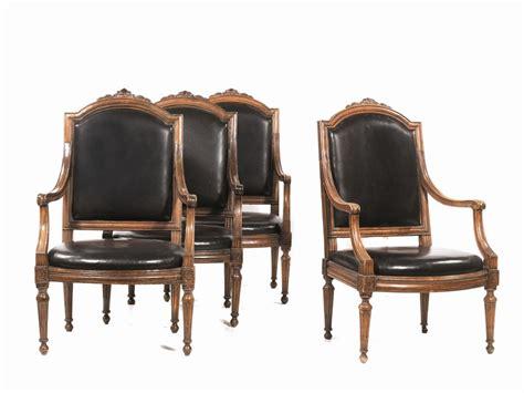 poltrone genova quattro poltrone genova secolo xviii mobili ed oggetti